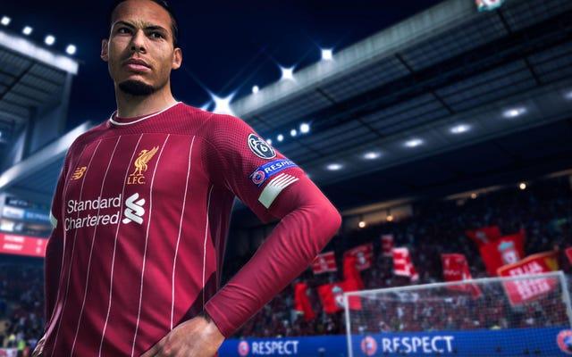 Witryna EA ujawnia dane osobowe graczy FIFA