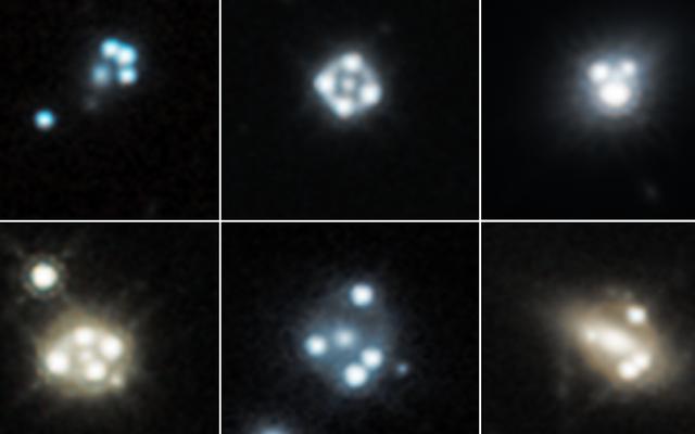 ハッブルは暗黒物質の不正な塊を検出しましたか?