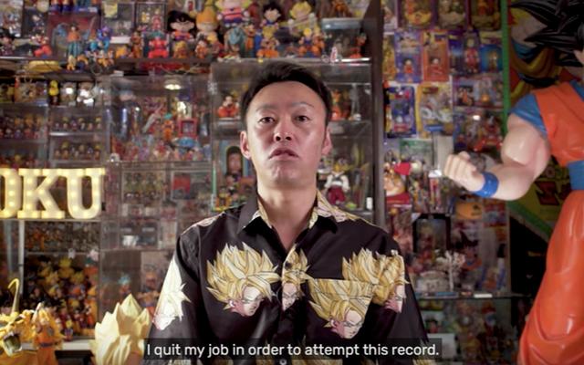 男はドラゴンボールの商品購入に集中するために仕事を辞める