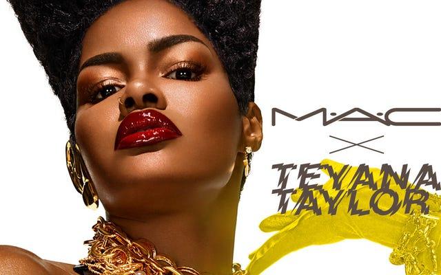 アップタウンガール:Teyana TaylorのMACとの今後のコラボレーションはハーレムへのオードです