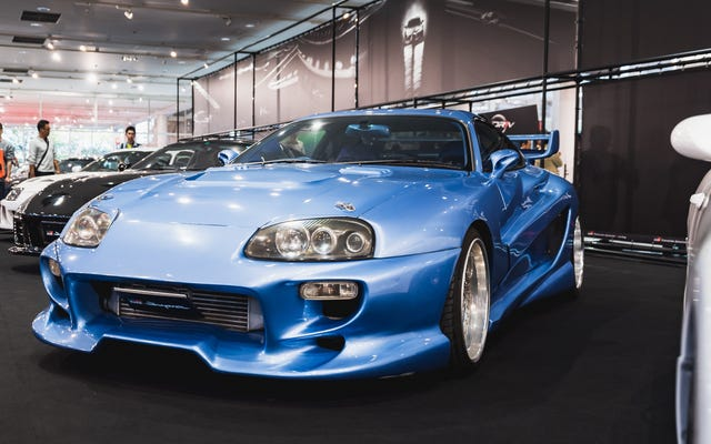 Toyota trajo los Supra modificados más icónicos para celebrar el Supra 2020 en Japón