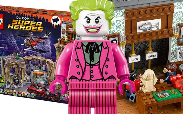 レゴクラシックTVシリーズのバットケイブには60年代のバットマンがすべて揃っています