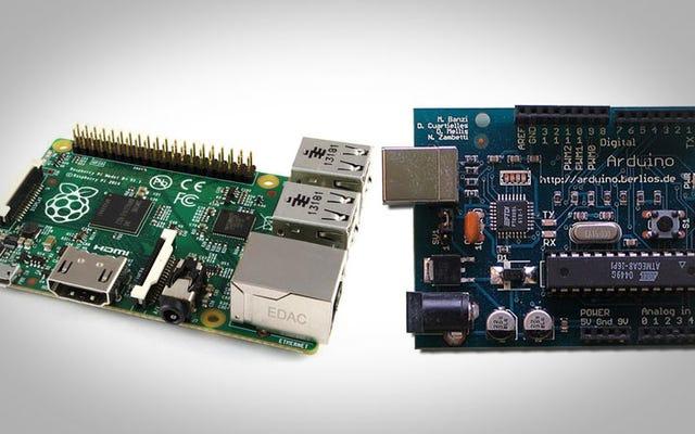 Scegli tra un Raspberry Pi e un Arduino con questa regola empirica