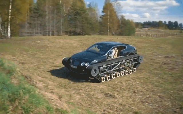 La façon dont ces mécaniciens russes ont construit cette Bentley `` Ultratank '' est tout à fait fascinante