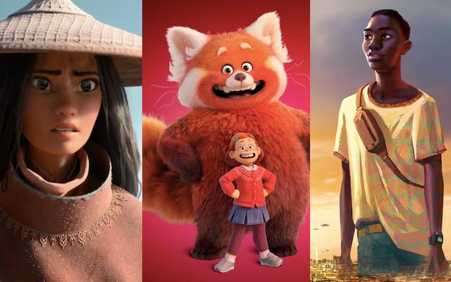 ディズニーとピクサーの新しいアニメーションの発表はワイルドでした