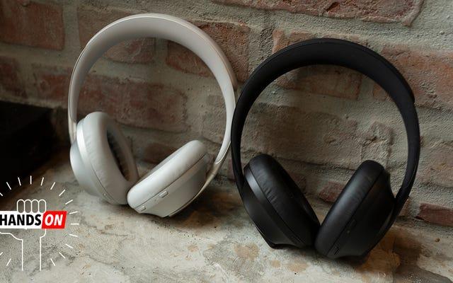 Boseの最新のヘッドフォンは、ノイズキャンセリングの新しいフロンティアに取り組んでいますが、それは余分な現金の価値がありますか?