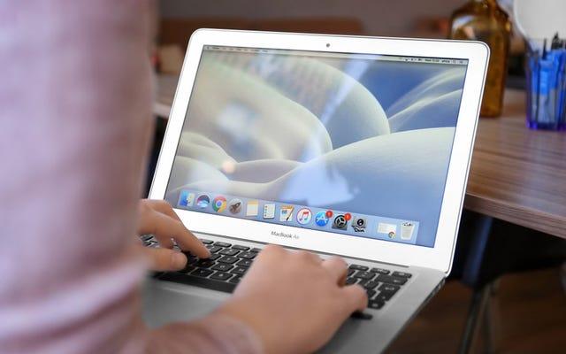 วิธีรับในการฟ้องร้องคีย์บอร์ด MacBook ที่แย่มากของ Apple