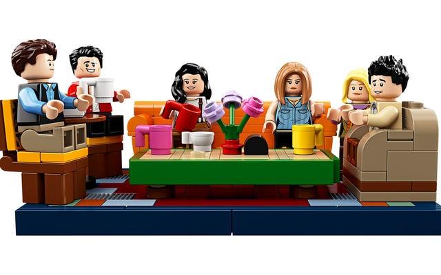 レゴのフレンズセントラルパークセットは、小さな白人の印象的なコレクションです
