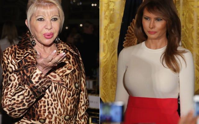 """First Lady Snaps at """"First Lady"""" w prezydenckiej byłej żonie wołowiny"""
