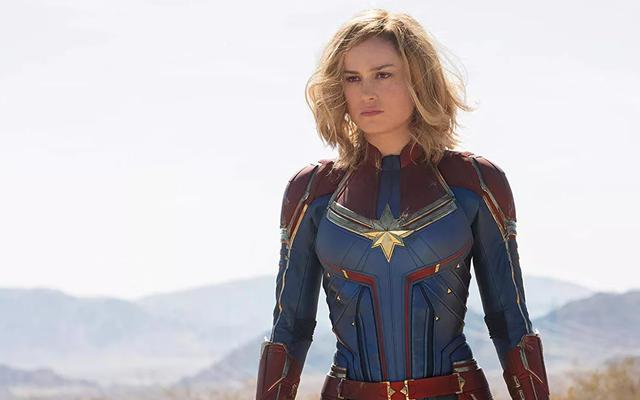 Captain Marvel est encore plus étranger dans l'art conceptuel inutilisé