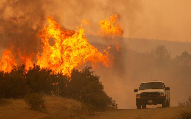 Californie 2018 a été le pire jamais enregistré pour les incendies de forêt
