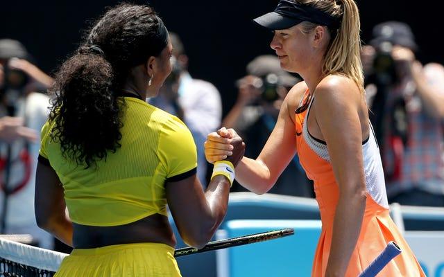 Serena Williams i Maria Sharapova wrzucą wołowinę z powrotem na grill podczas US Open