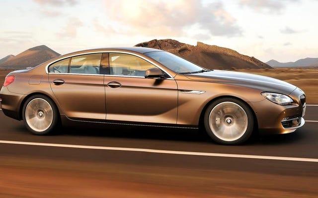 デッド:BMW 3シリーズGT、BMW 6シリーズGT、BMW6シリーズグランクーペ