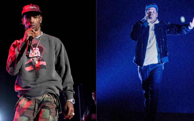 Secondo quanto riferito, Jay-Z sta cercando di salvare Travis Scott da se stesso: intendiamo, il Super Bowl