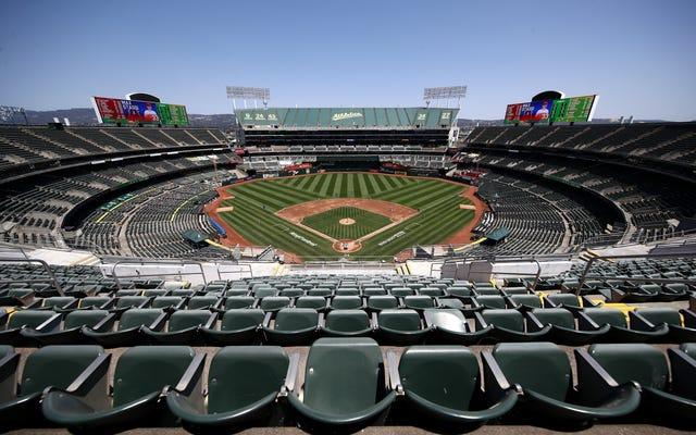 Un autre jour, un autre jeu MLB reporté en raison du coronavirus