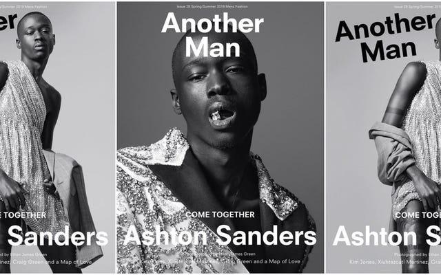 Da Moonlight a copertine di riviste, Ashton Sanders non è solo un altro uomo