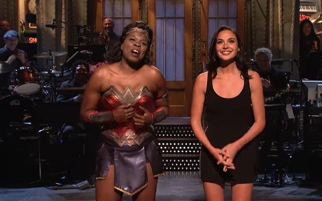 Gal Gadot nie może wnieść cudu w bez życia Saturday Night Live