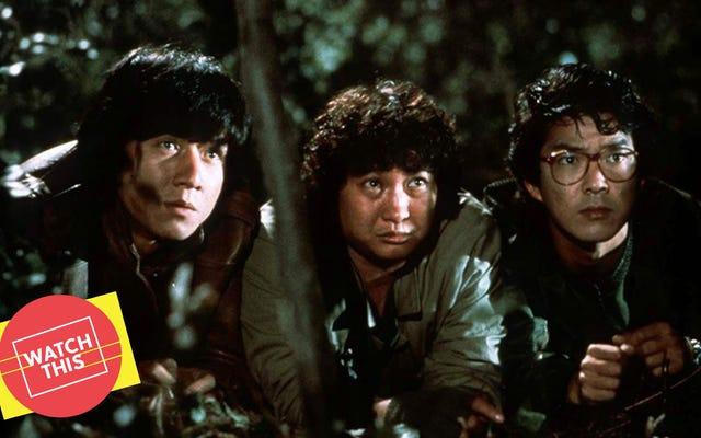 Una stravagante commedia degli anni '80 presenta uno dei combattimenti più duri di Jackie Chan