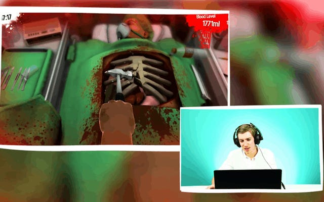 Los cirujanos reales son tan malos en Surgeon Simulator como usted