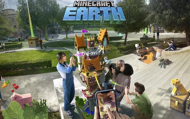 MinecraftEarthは今年10月に早期アクセスでローンチします