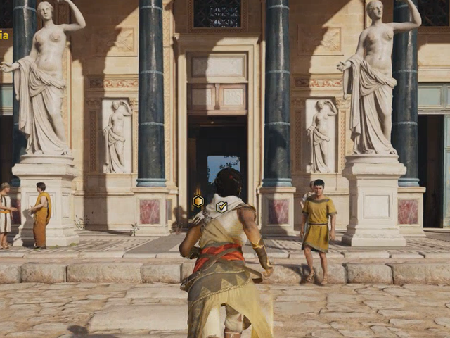Assassins Creed Origins New Discovery Tour Censors Nude