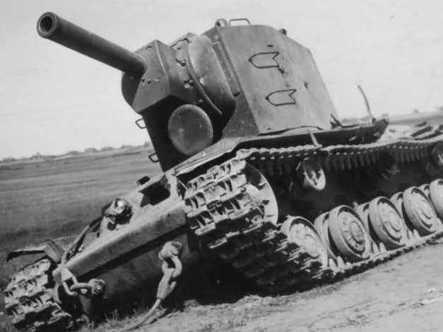 Niesamowita historia KV-2, samotnego rosyjskiego czołgu, który zatrzymał  armię nazistów