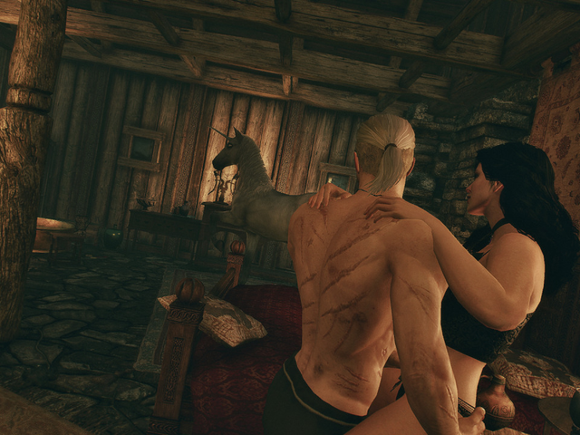 Sexszenen the witcher is there