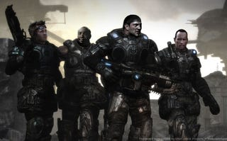 Illustration for article titled Gears of War, Starring Terry Tate, Two Rasslers, and Batman