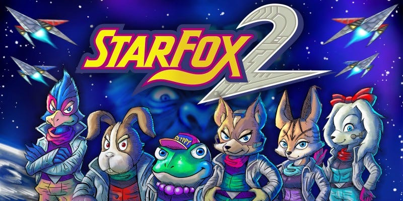 Illustration for article titled Ripped Carts Of Star Fox 2 Are Already For Sale On Ebay