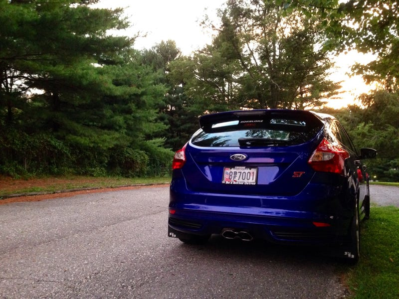 Illustration for article titled Potato Shot of My Focus ST