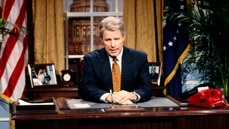 Phil Hartman as Bill Clinton on Saturday Night Live, 1993