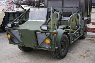 Illustration for article titled CREV Diesel Electric Hybrid: The Fisker Special Ops Vehicle