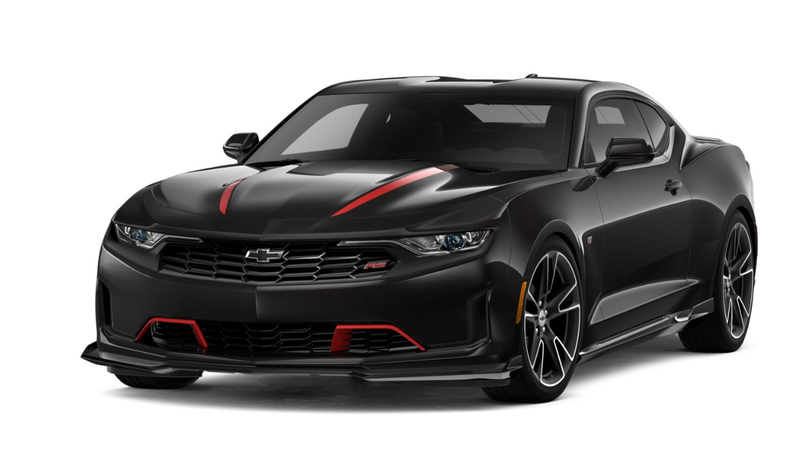 Illustration for article titled Seent - gross way to spend $3,575 in options on a Camaro.