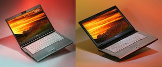 Illustration for article titled Fujitsu Lightens Up With 4-Lb. 14-Inch LifeBook S6510 Lappie (and Slightly Larger S7210)