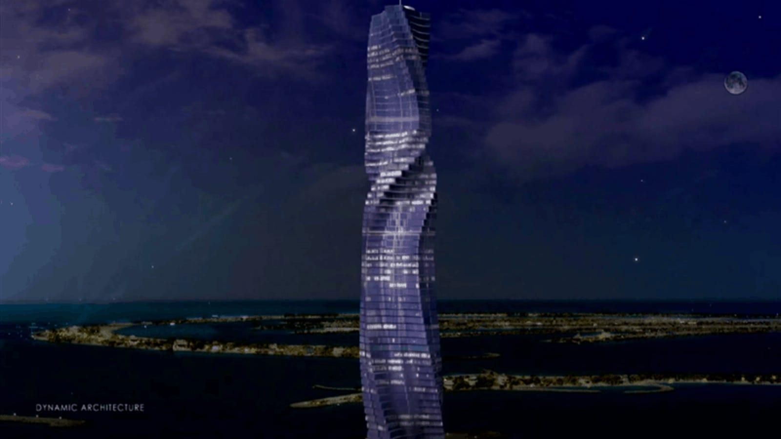 Dubái construirá el primer rascacielos giratorio del mundo: tendrá 80 pisos y estará listo para 2020