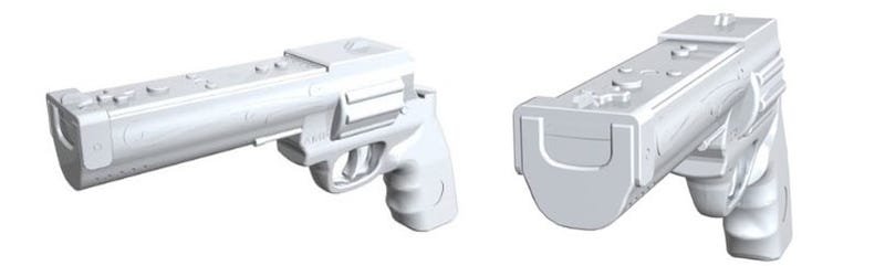 Illustration for article titled Wii Overkill Hand Cannon Is Dirty Harry Approved