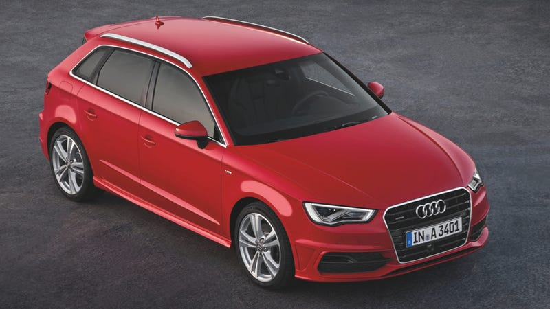The Audi A Sportback Is Another Sexy Wagon Americans Cant Have - Audi a3 wagon