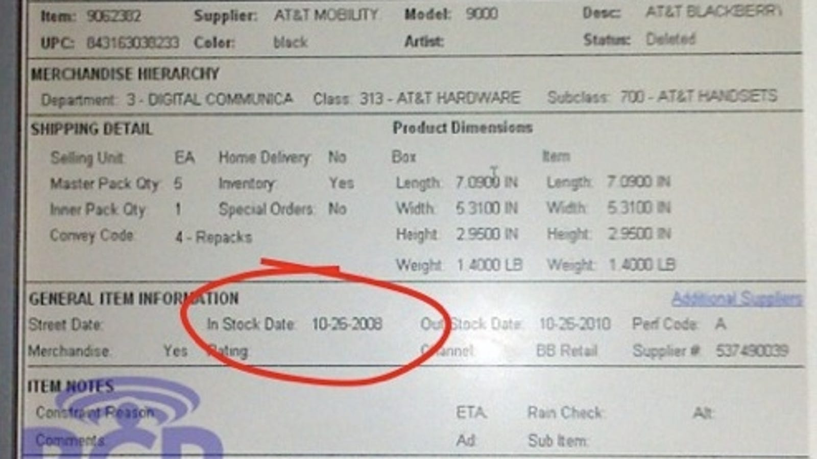 Leaked Info Says BlackBerry Bold Hitting Best Buy October 26th