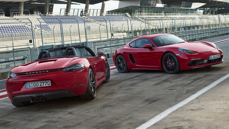 Illustration for article titled What Do You Want To Know About The 2018 Porsche 718 GTS Cayman And Boxster?