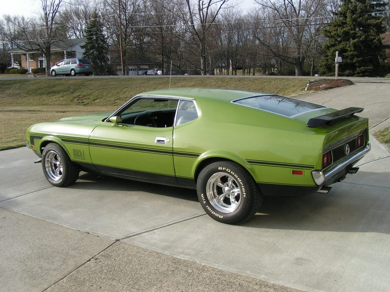 Illustration for article titled And now, the giant picture of a '72 Mach 1 no one asked for.