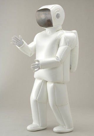 Illustration for article titled Wearing an Asimo Costume May Be the Least Questionable Aspect of Your Social Practices