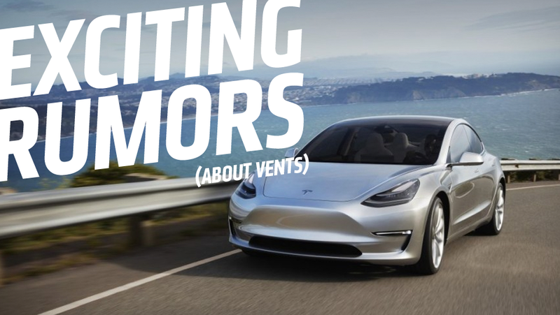 Illustration for article titled We May Have An Interesting Leak About The Tesla Model 3's Interior