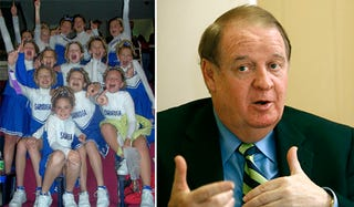 Illustration for article titled New Jersey Senator Demands You T Up Those Cheerleaders