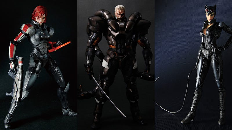 Illustration for article titled Get a Good Look at This Year's New Mass Effect, Hitman, Metal Gear & Devil May Cry Action Figures