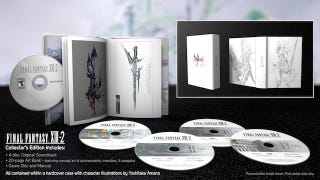 Illustration for article titled Here's What Eighty Dollars Gets You in The Final Fantasy XIII-2 Collectors Edition