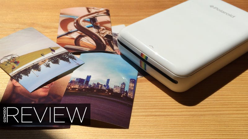 Illustration for article titled Polaroid Zip Review: Tiny, Fast, and Pretty Damn Fun