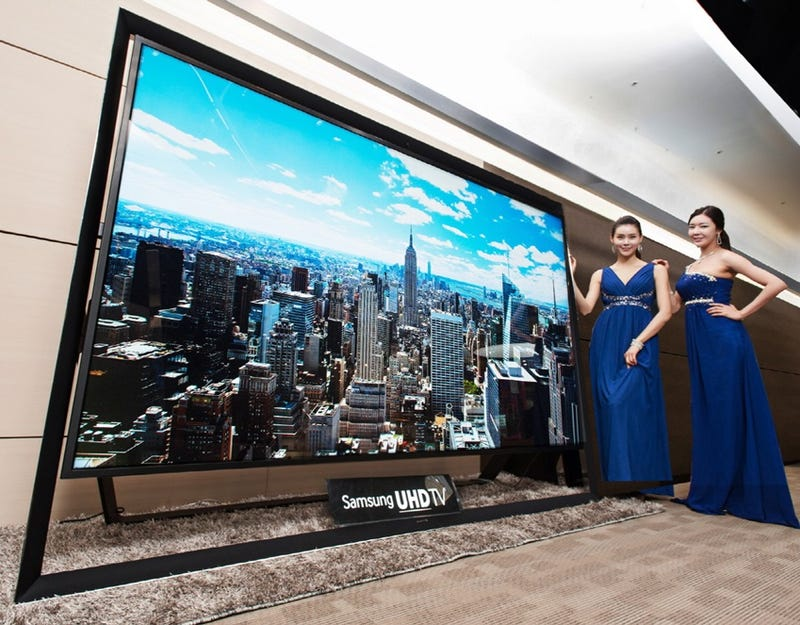 El televisor Ultra HD más grande del mundo, 110'', ya está a la venta