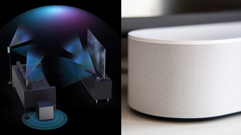 Sonos Beam | $349 | AmazonSonos Playbar | $599 | AmazonSonos Sub | $599 | AmazonSonos Playbase | $599 | AmazonPolk Audio MagniFi Max SR 5.1 Surround Sound Sound Bar | $399 | AmazonVIZIO 3.1.2 Atmos Premium Home Theater Sound System | $700 | AmazonVIZIO 5.1.4 Atmos Premium Home Theater Sound System | $900 | Amazon