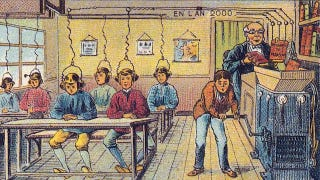 Illustration for article titled What People in 1899 Thought the Year 2000 Would Look Like