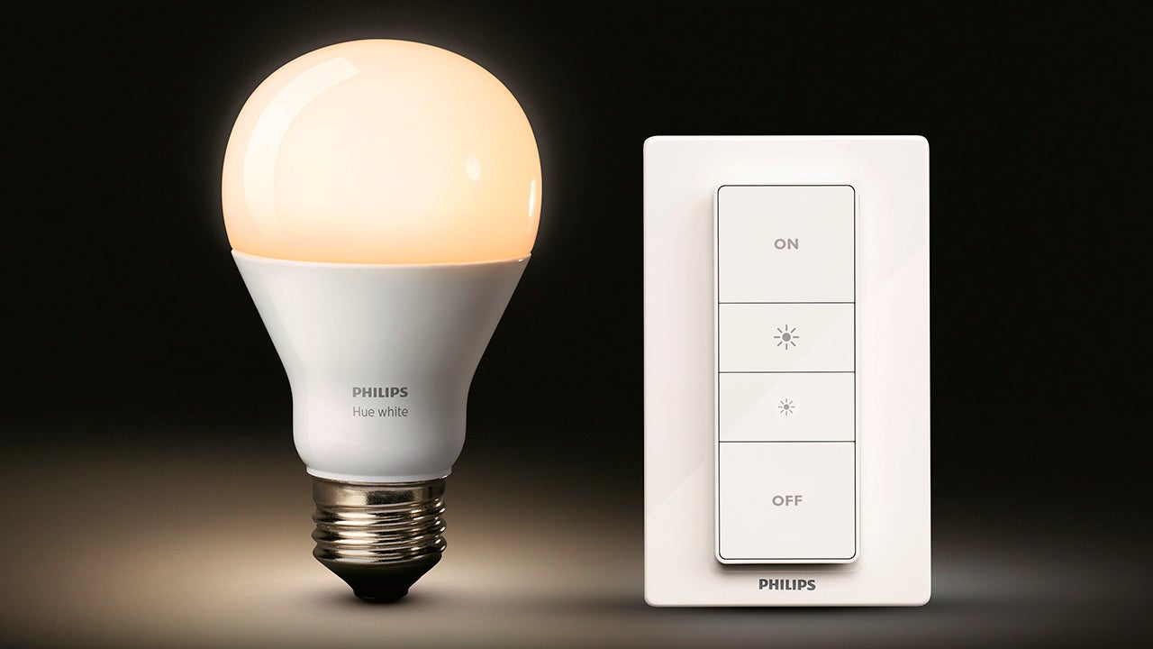 ... ensuring your mobile device is connected to your homeu0027s wifi network) isnu0027t always the most convenient way to control Philipsu0027 wireless lighting system. & You Can Now Dim Philipsu0027 Hue Bulbs From a Wireless Remote